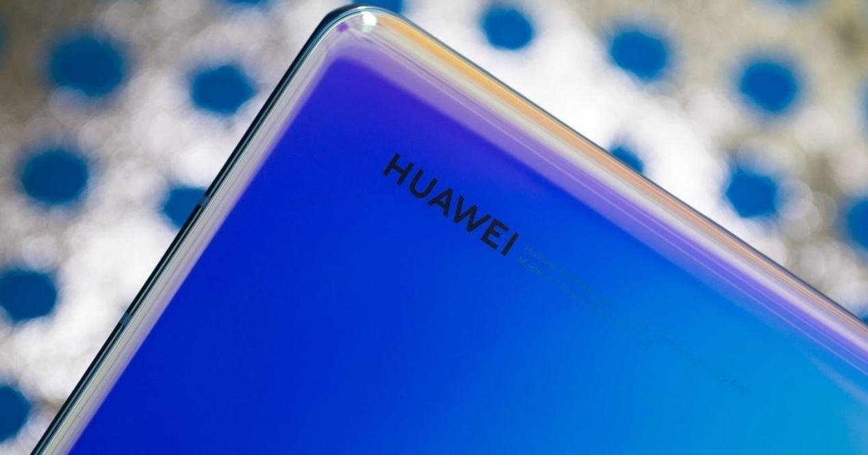 Huawei esquina azul