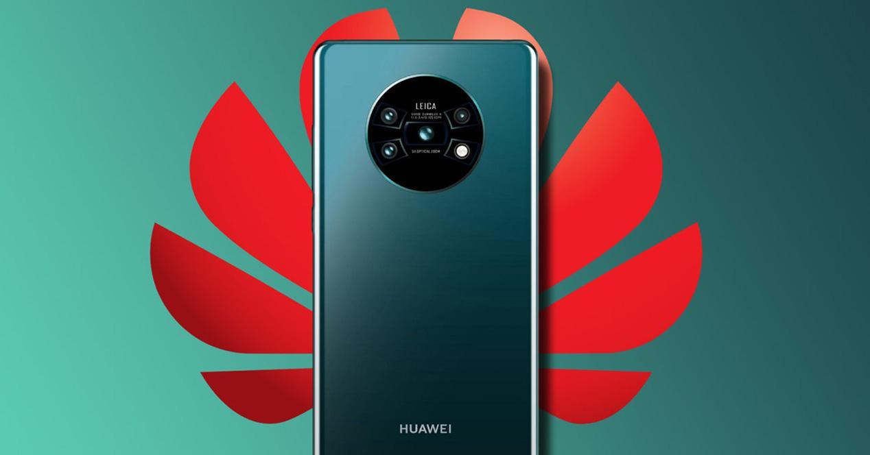 Posible trasera del Huawei Mate 30