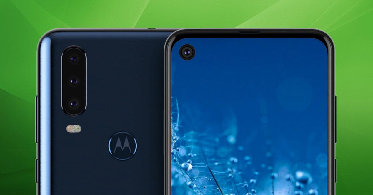 Motorola G8 fondo verde