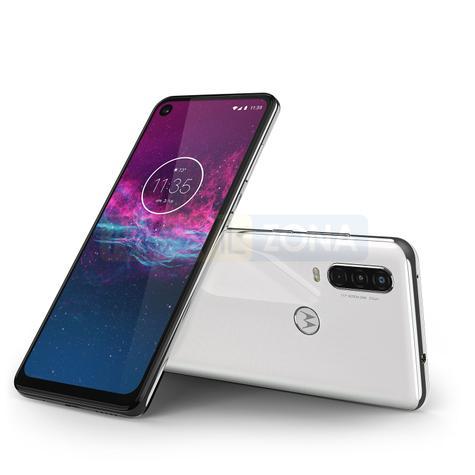 Motorola One Action negro y blanco