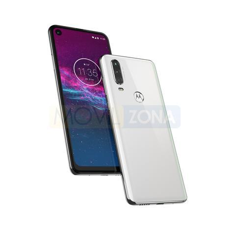 Motorola One Action blanco y negro