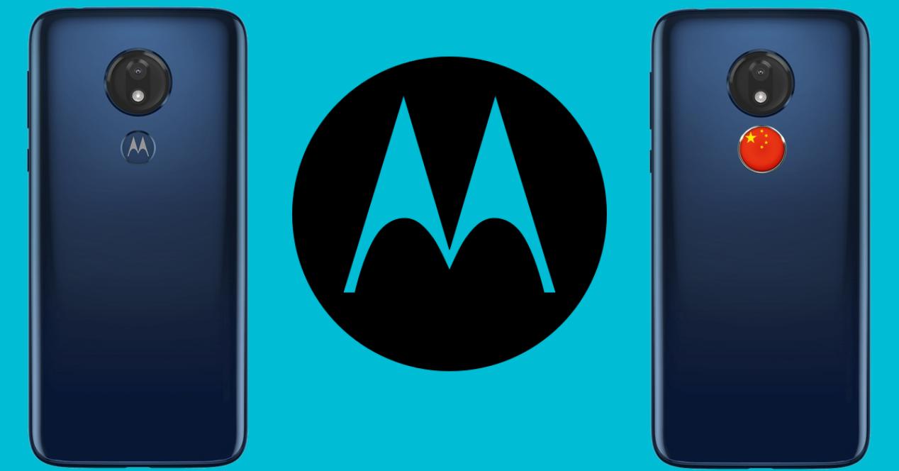 Motorola movil clon chino