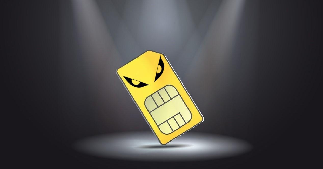 Tarjeta SIM amarilla problemas