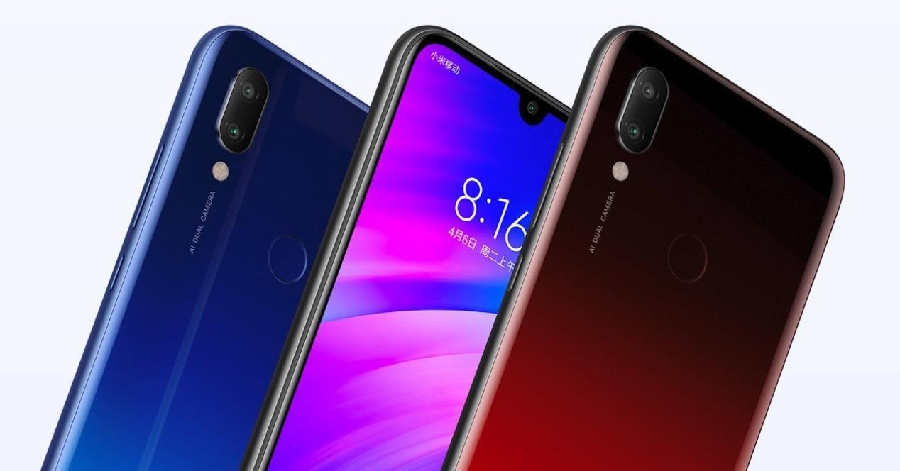 Xiaomi Redmi 7 colores