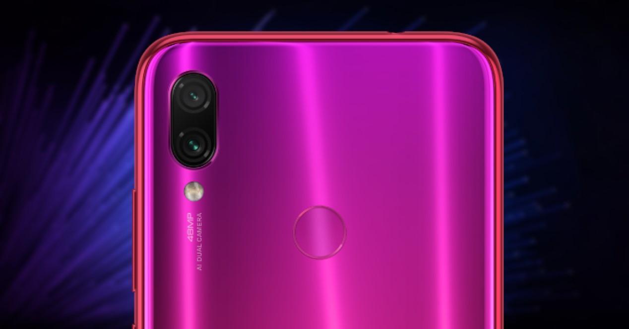 Xiaomi Redmi Note 7 camaras