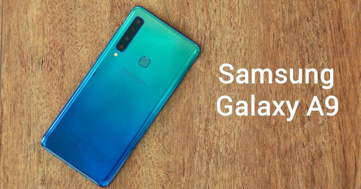 Parte trasera del Samsung Galaxy A9