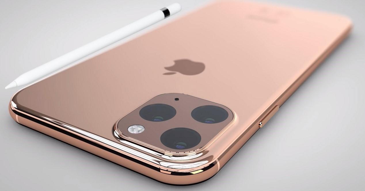 iPhone 11 con Apple Pencil