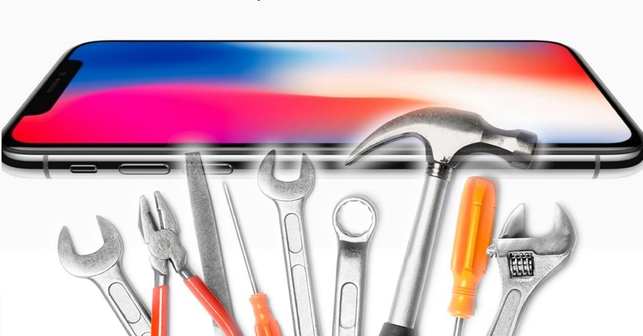 iPhone herramientas