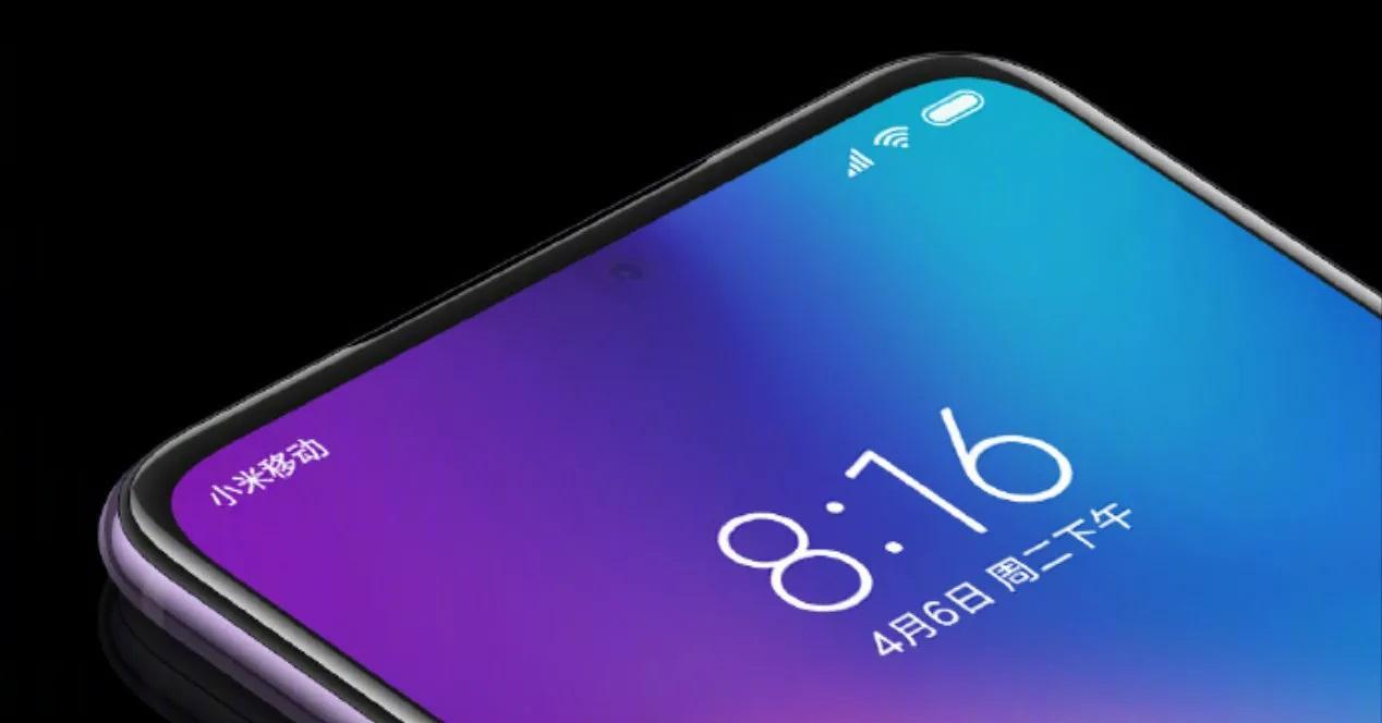Pantalla de un móvil Xiaomi