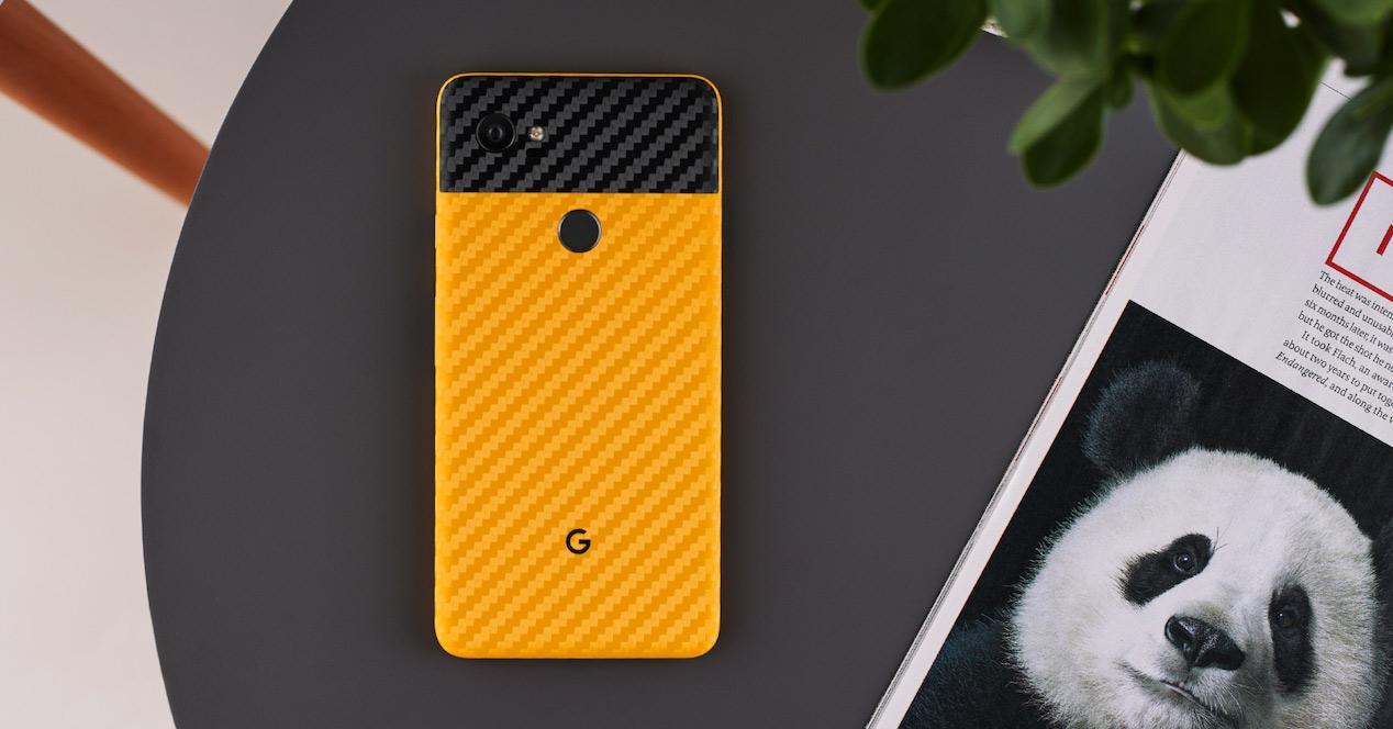 pixel 2 xl amarillo