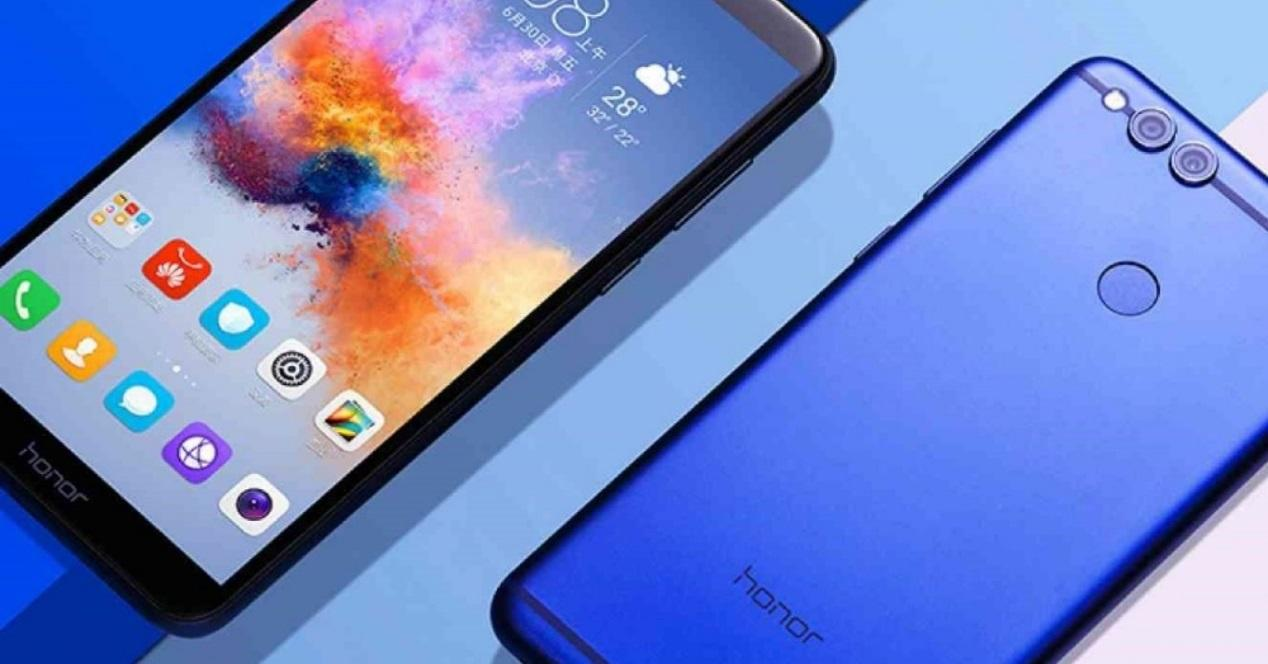 Honor 7x azul