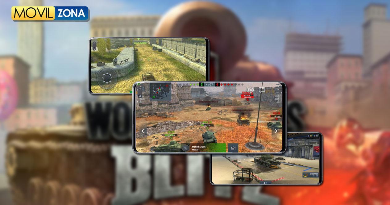 Juego World of Tanks Blitz MMO