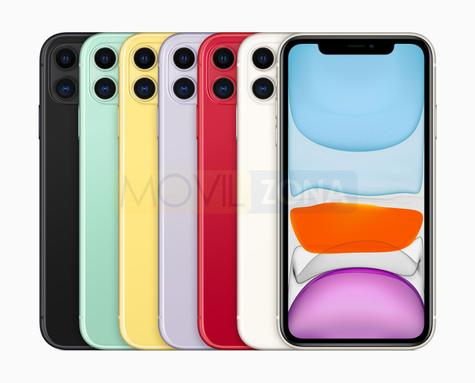 Apple iPhone 11 colores