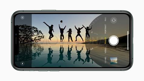Apple iPhone 11 Pro panorámico
