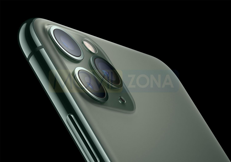 Apple iPhone 11 Pro Max cámara con tres lentes