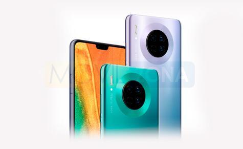 Huawei Mate 30 cámara