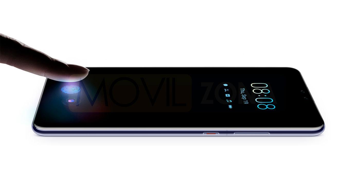 Huawei Mate 30 huella dactilar