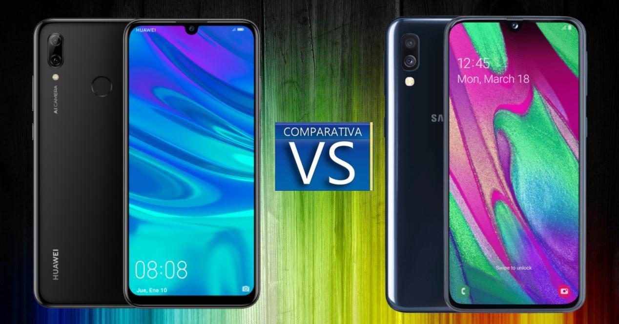 Huawei P Smart 2019 vs Galaxy A40