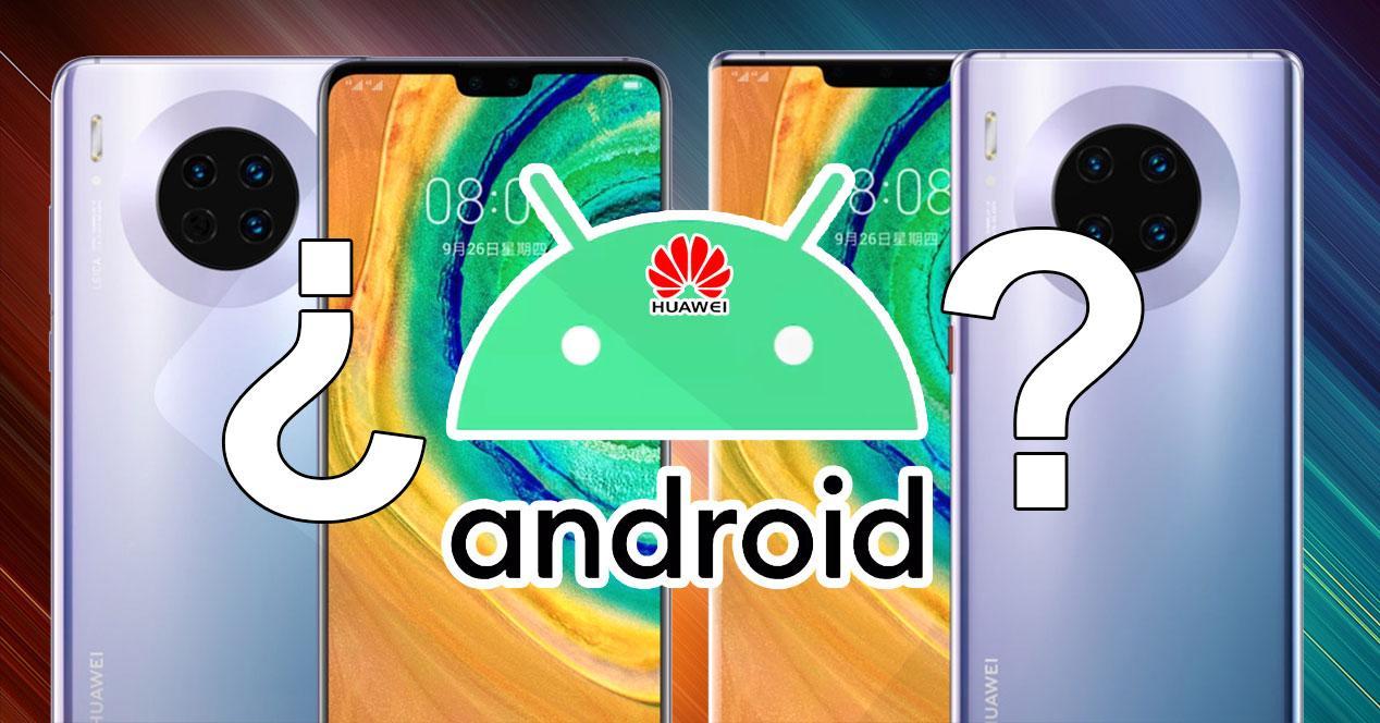 Android en el Mate 30