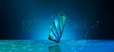 Realme 5 Pro agua