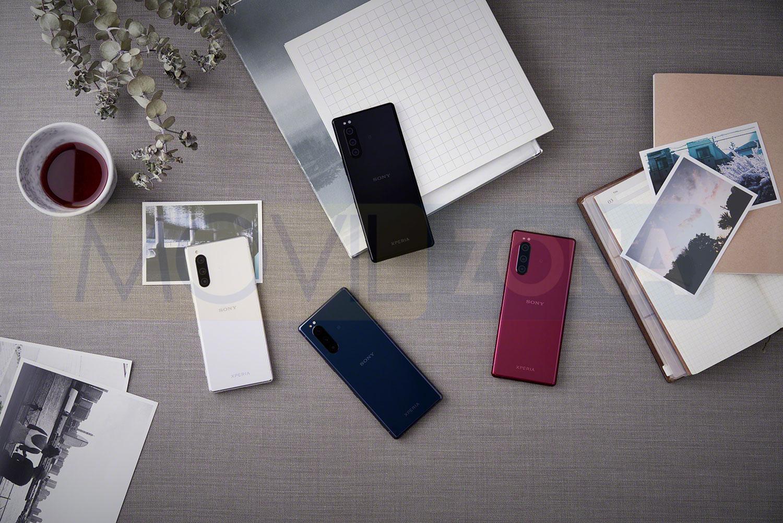 Sony Xperia 5 colores