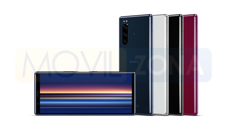 Sony Xperia 5 display y colores