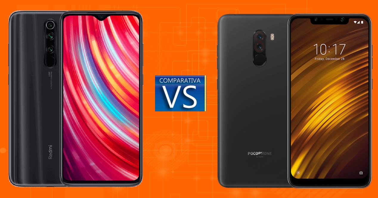 Xiaomi Redmi Note 8 Pro vs Pocophone F1