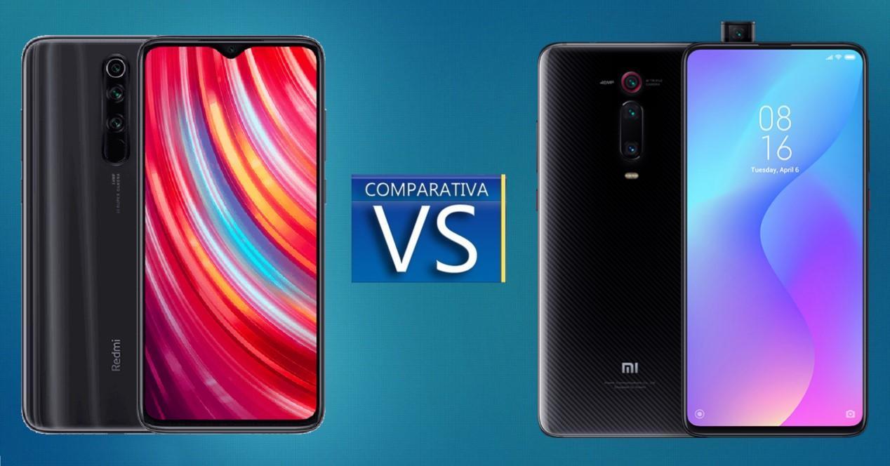 Xiaomi Redmi Note 8 Pro vs Xiaomi Mi 9T