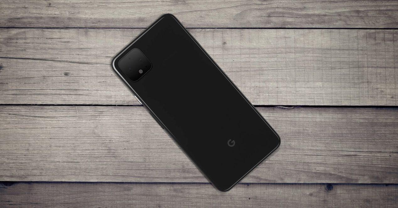 pixel 4 fondo madera