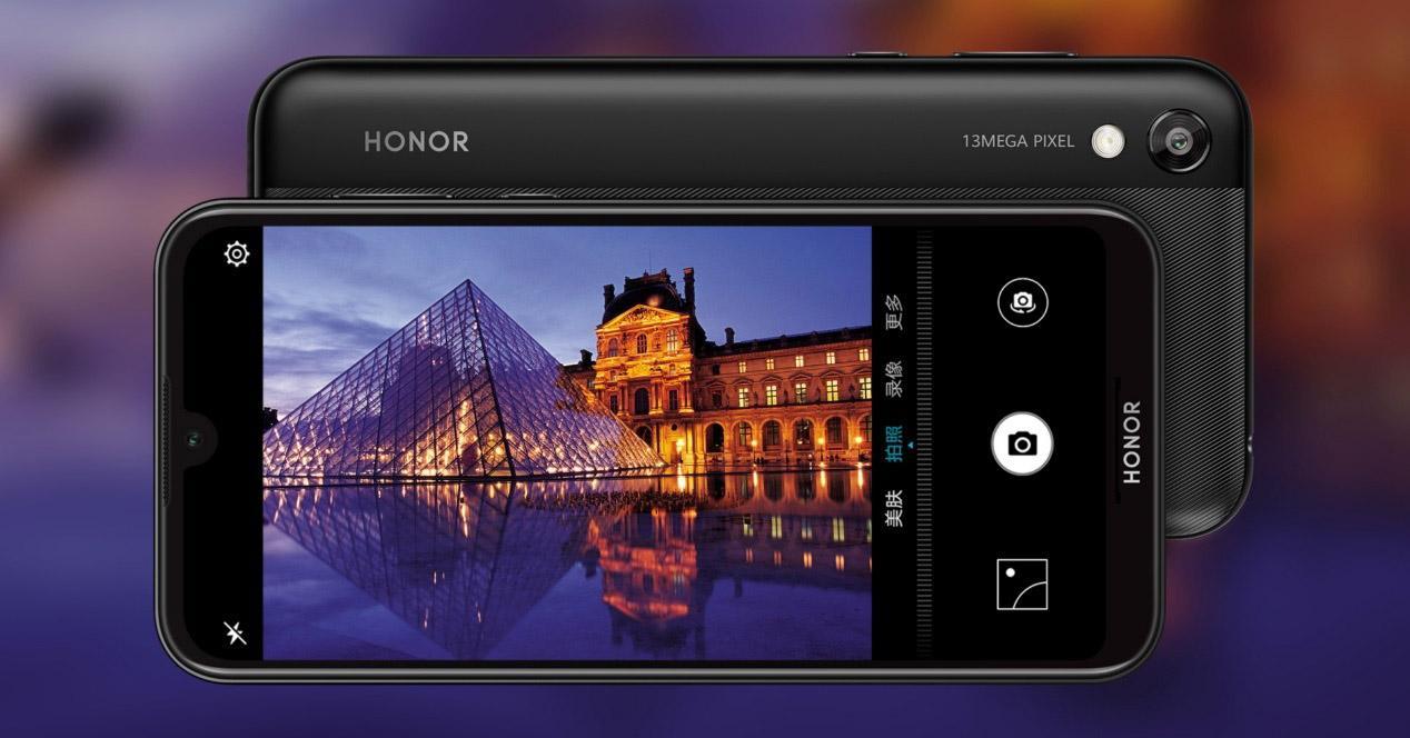 App de cámara del HONOR Play 3e