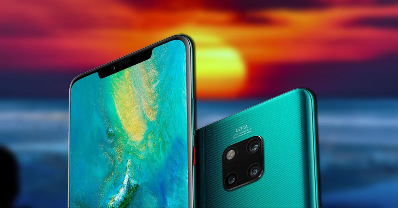 Frontal y trasera Huawei Mate 20 Pro
