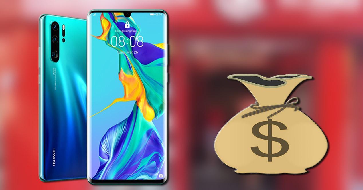 Huawei P30 Pro precio segunda mano