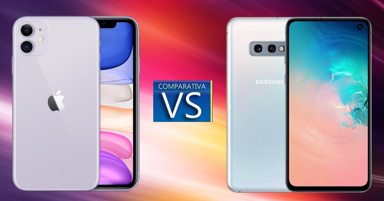 iPhone 11 vs Galaxy S10e