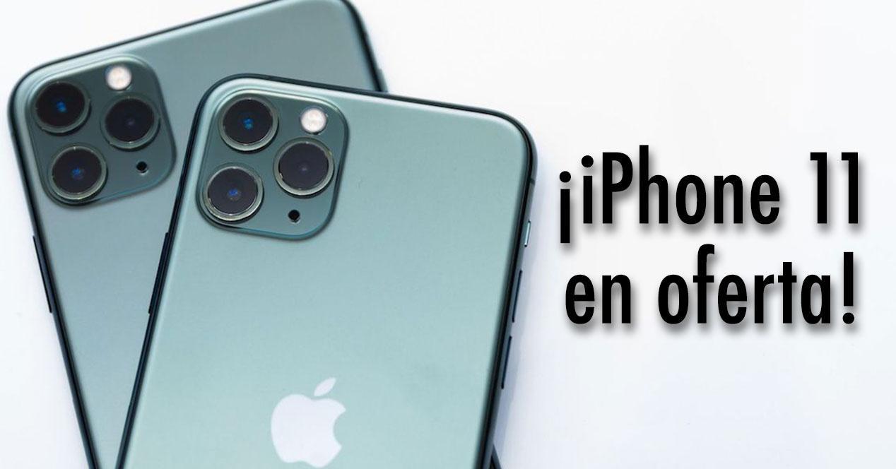oferta iphone 11