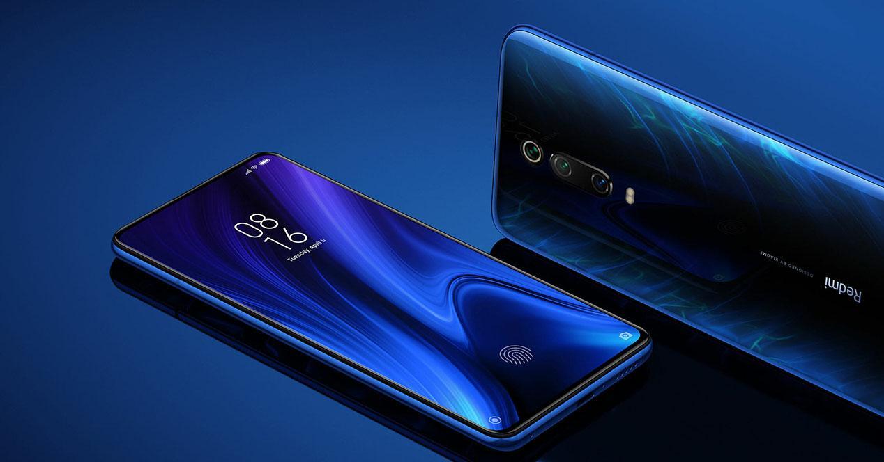 Frontal y trasera Xiaomi Mi 9T