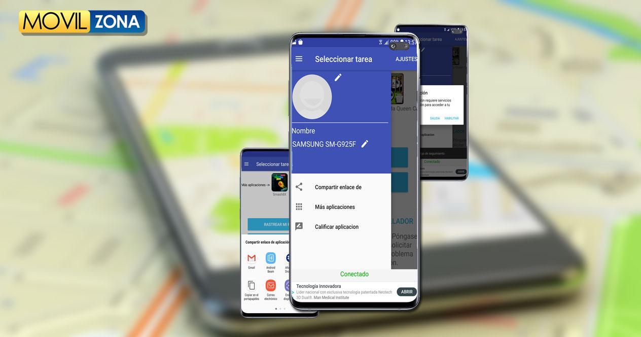 Aplicación Live GPS Cell Phones