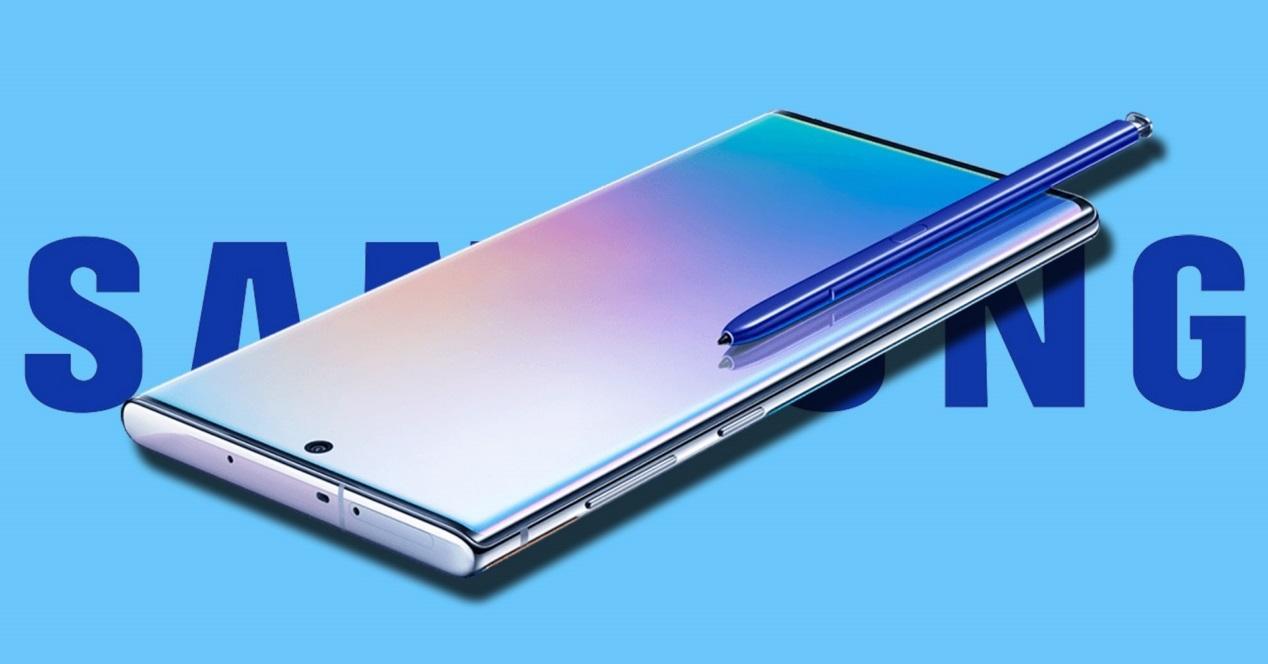 Galaxy Note 10 con Spen
