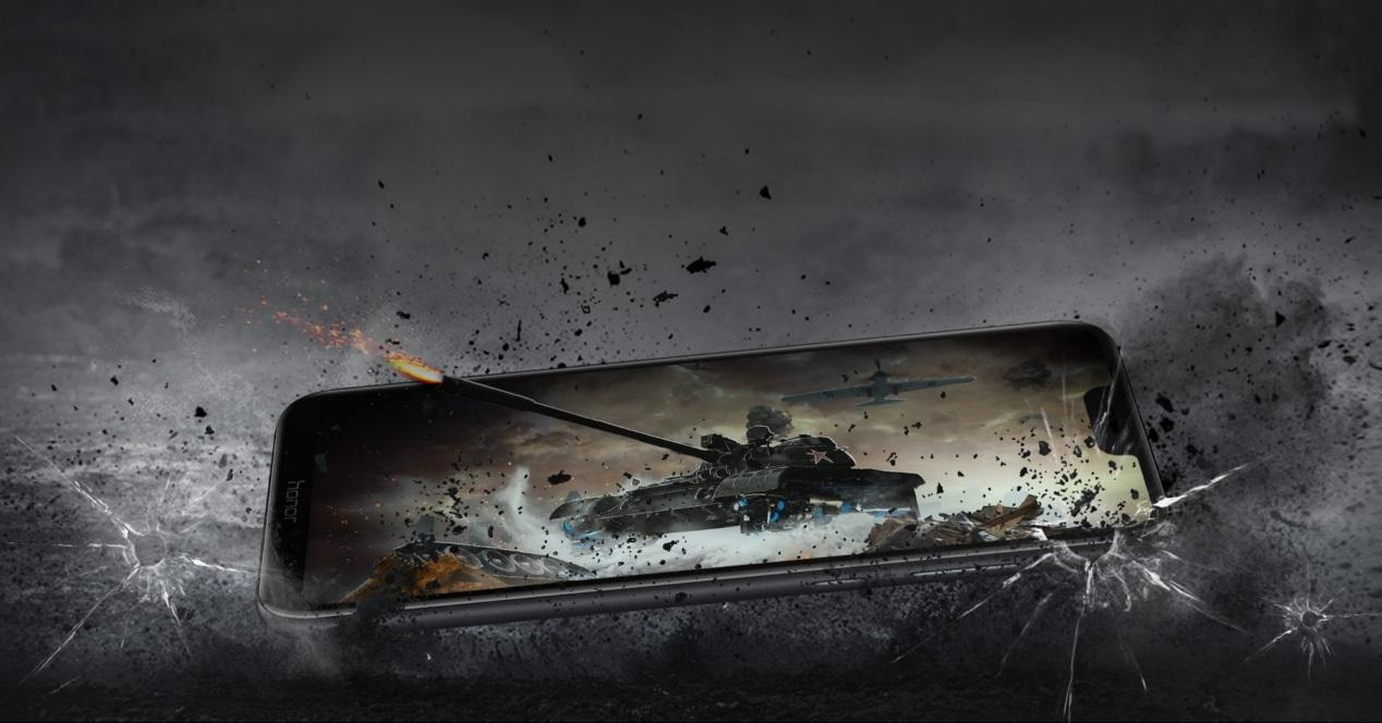 Honor Play portada tanque