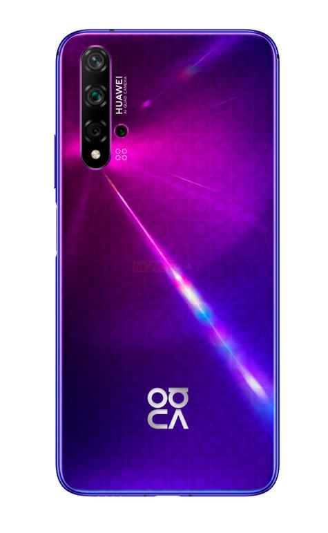 Huawei Nova 5T morado