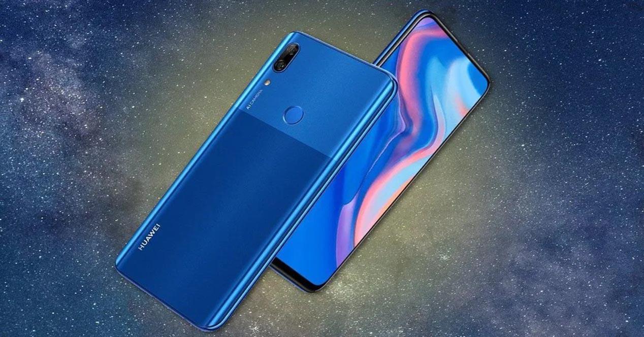 Frontal y trasera del Huawei P Smart Z