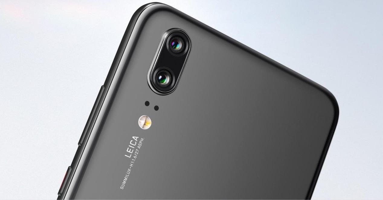Huawei P20 camaras portada