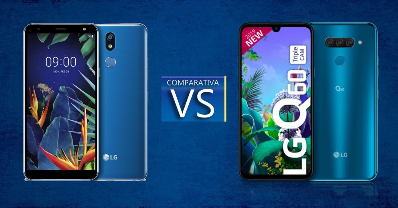 LG K40 vs LG Q60