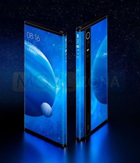 Xiaomi Mi Mix Alpha pantalla