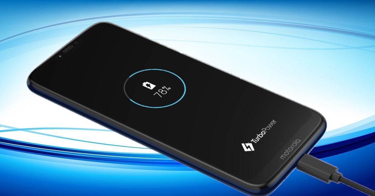 Motorola Moto G7 cargando