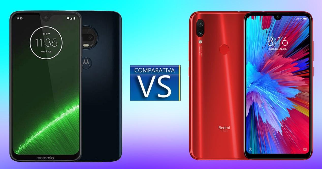 Motorola Moto G7 vs Redmi Note 7