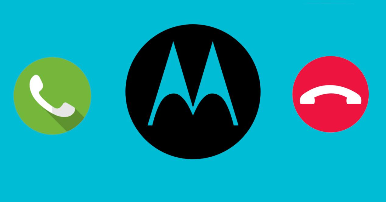 Motorola llamar y colgar