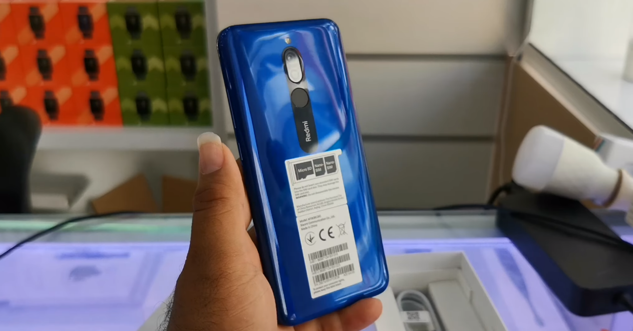 Redmi 8 en vídeo