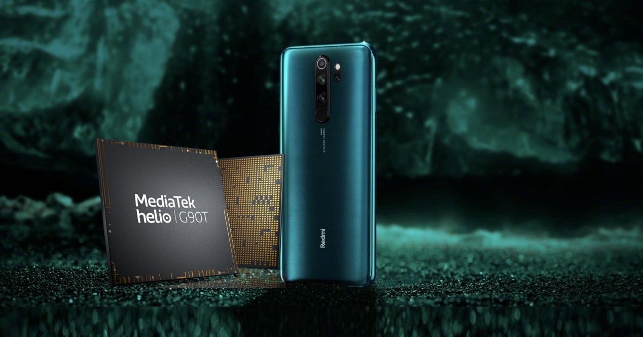 Redmi Note 8 Pro y Helio G90T