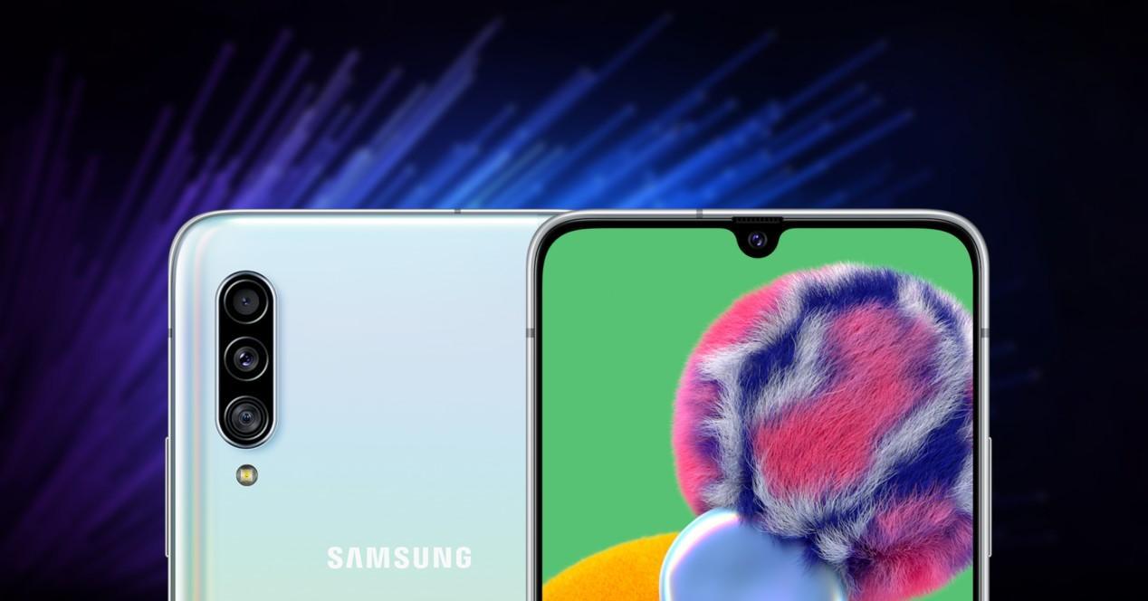 Samsung Galaxy A90 fondo