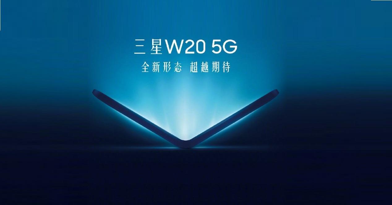 Samsung Galaxy W20 plegable